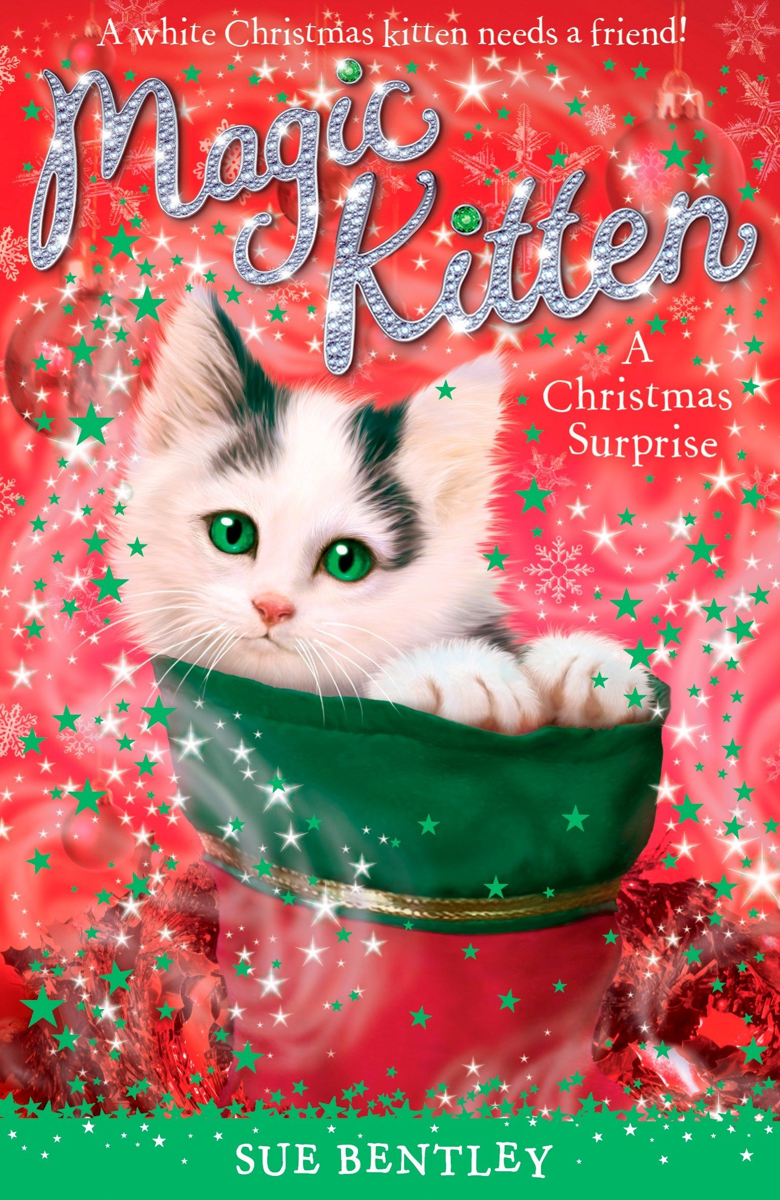 Amazon.com: A Christmas Surprise (Magic Kitten) (9780448450018): Sue ...