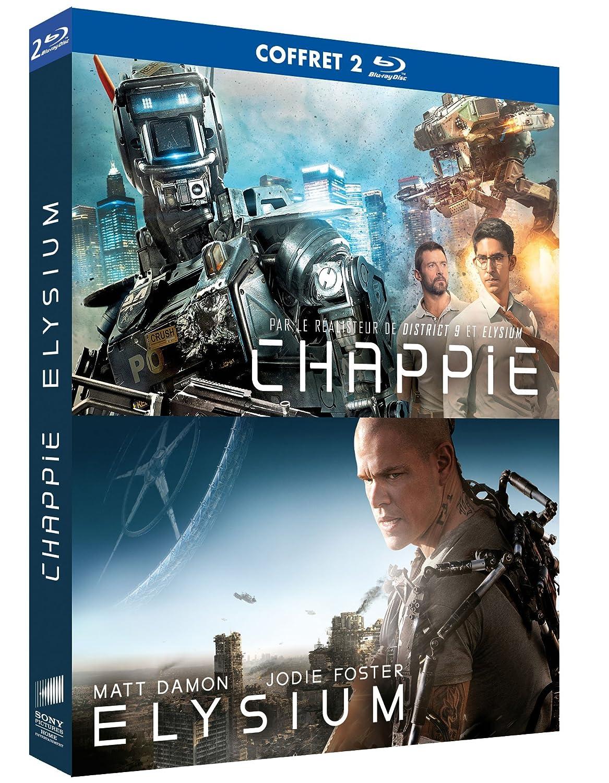 Chappie + Elysium [Francia] [Blu-ray]: Amazon.es: Sharlto ...