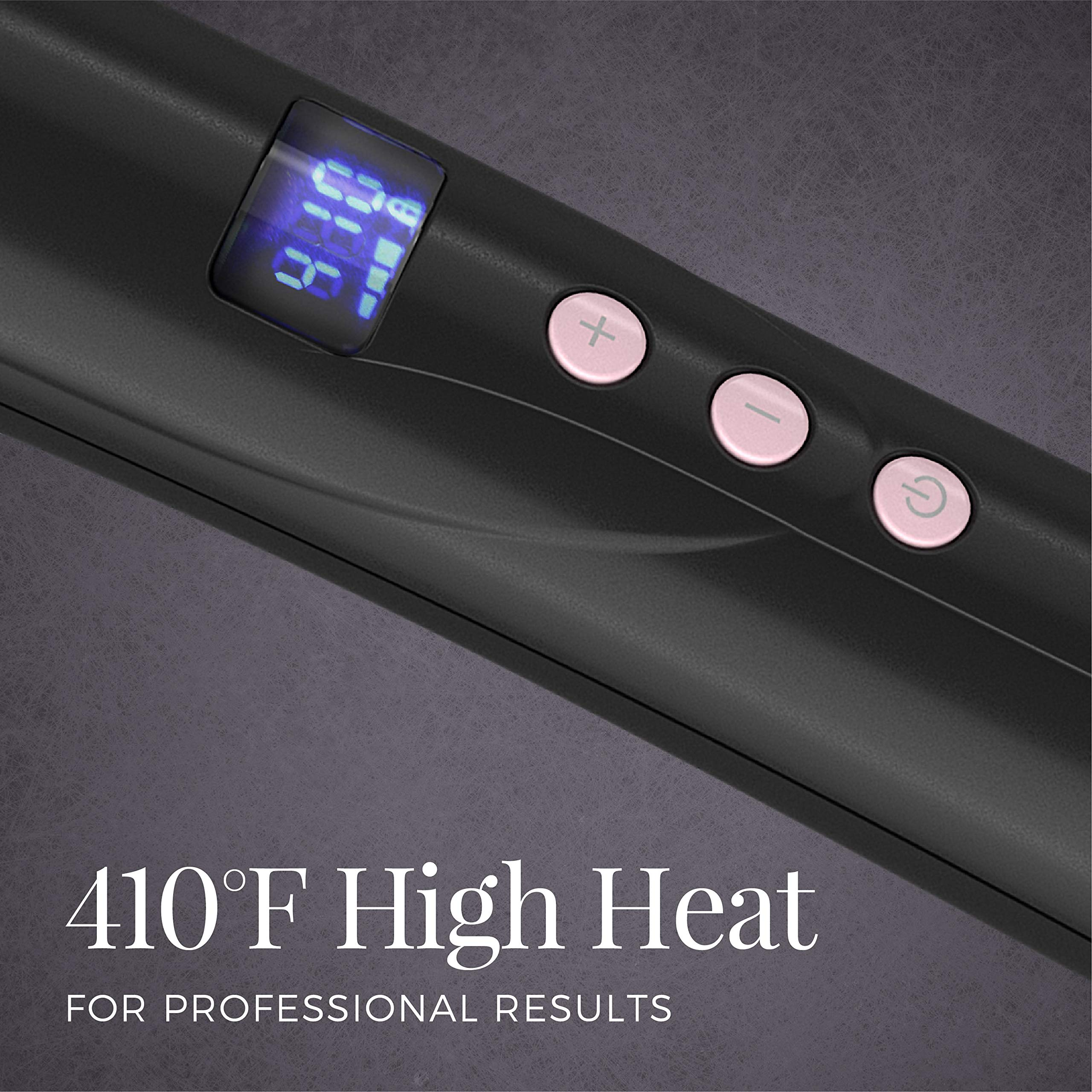 Remington Pro 1'' - 1 ½'' Curling Wand with Pearl Ceramic Technology and Digital Controls, CI9538 by Remington (Image #4)