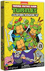 Colorforms Classics Teenage Mutant Ninja Turtles