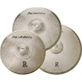 Agean Cymbals Silent R-Series Low Wolume Cymbal Pack Box Set (14HH/16CR/20R) R-SET