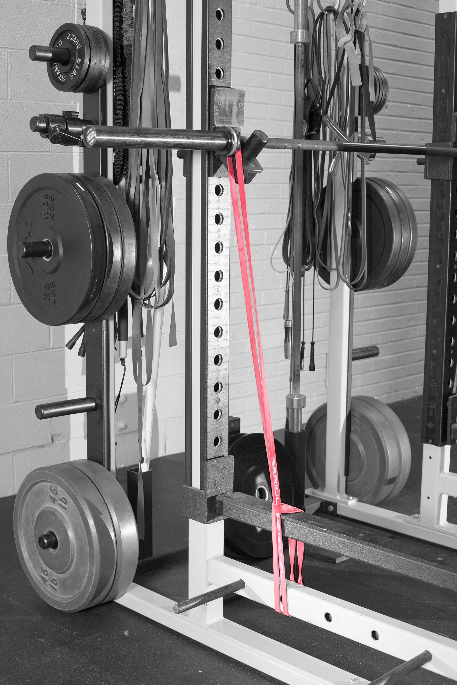 Serious Steel Fitness Red - #2 Monster Mini Pull-up Assist & Resistance Band (Size: 13/16'' x 4.5mm Resistance: 10-50lbs) by Serious Steel Fitness (Image #9)