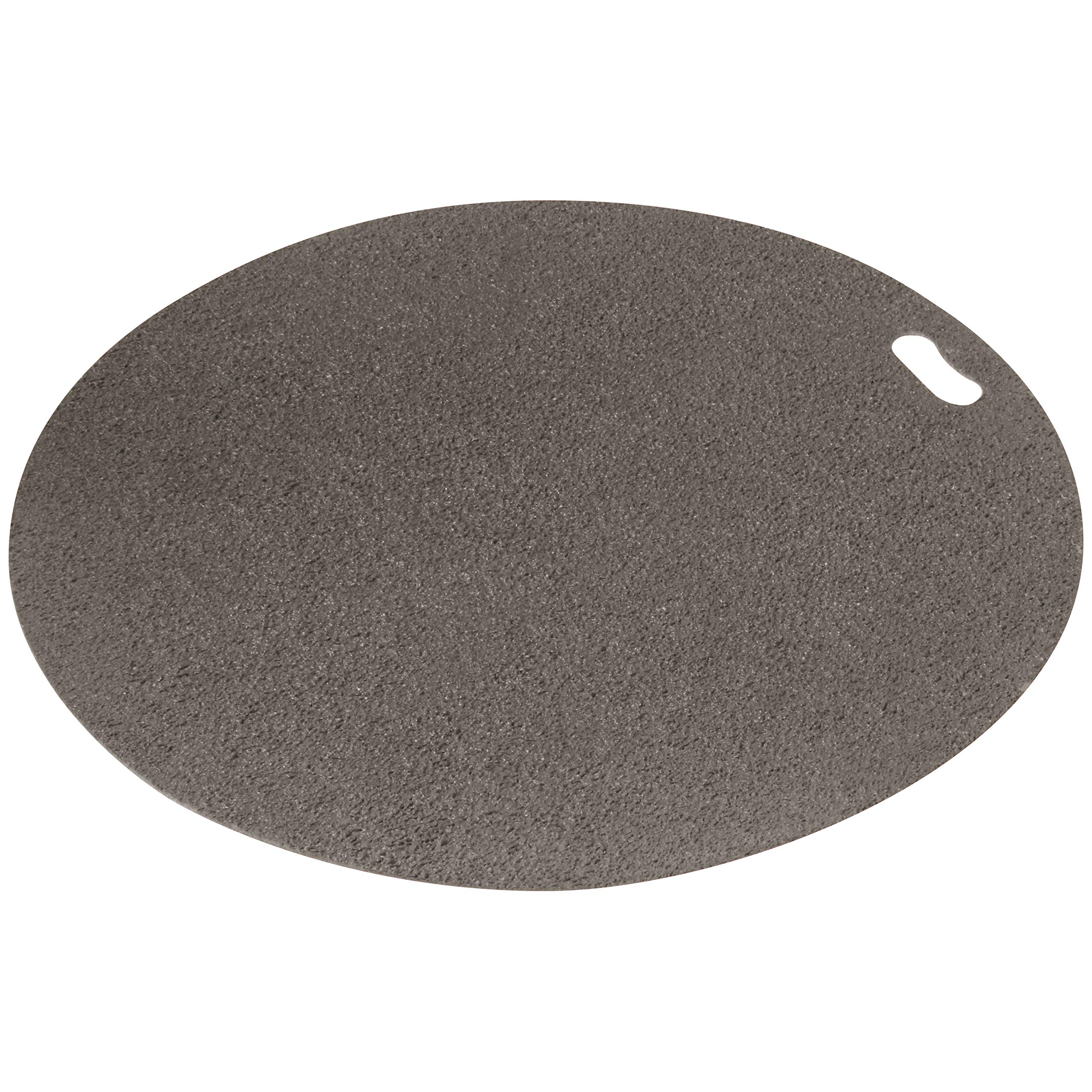 The Original Grill Pad Gray Grill Pad, Round by The Original Grill Pad