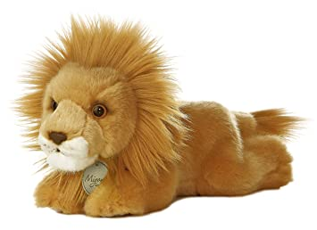 Amazon.com: Aurora World Miyoni – León de peluche, 8