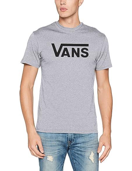 Vans_Apparel Herren T-Shirt Vans Classic, Grau (Athletic Heather/Black),