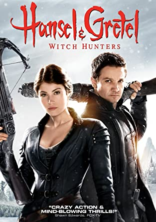 Hansel & Gretel Witch Hunters [DVD] cover