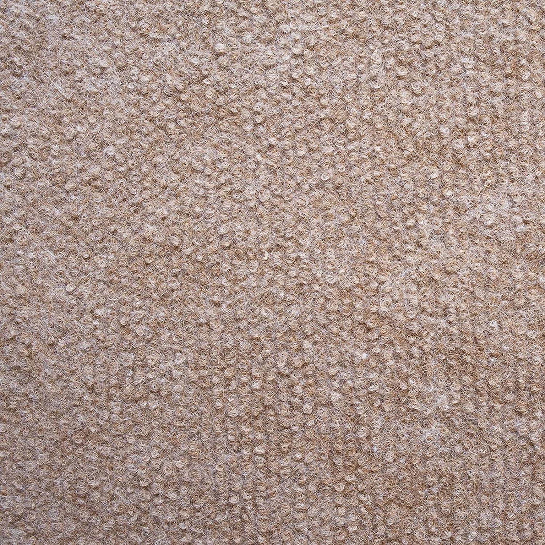 Floori/® Nadelfilz Teppich wasserabweisend 100x200 cm, braun Emissions- /& geruchsfrei Viele Farben /& Gr/ö/ßen GUT-Siegel