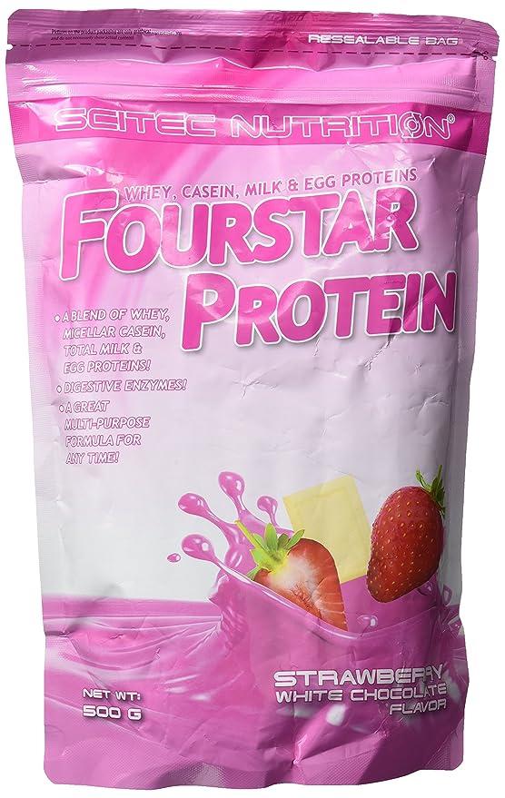 Fourstar Protein 500 g Alpenmilchschokolade: Amazon.es: Alimentación ...