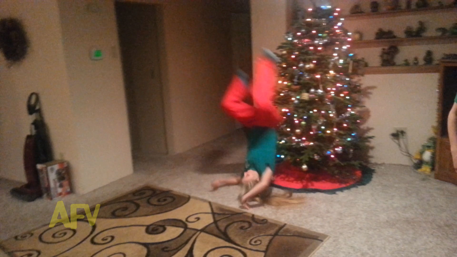 Christmas Tree Gymnastics