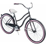 "Huffy* 26"" Cranbrook Women's Cruiser Bike with Perfect Fit Frame, Black"