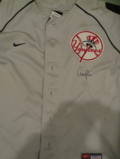 d00c66396 Aaron Judge Autographed Signed NY Yankees Jersey at Amazon s Sports  Collectibles Store