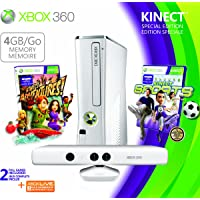 Xbox 360 4GB Console/ Kinect Family Bundle - 4GB Kinect Family Bundle Edition