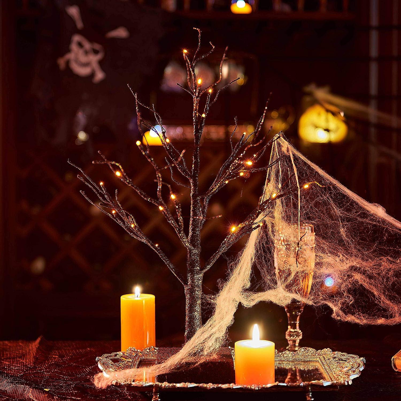 Light-Up Spooky Tabletop Tree