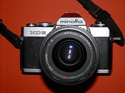 Minolta - Cámara réflex cámara XD 5 Incluye Objetivo RMC Tokina 35 ...