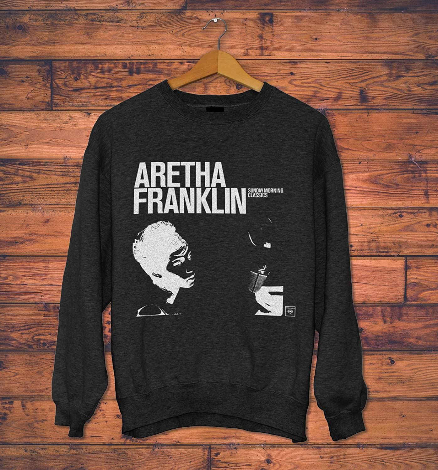 Aretha Franklin  B//W with white shirt 18 x 24 Poster FREE SHIPPING