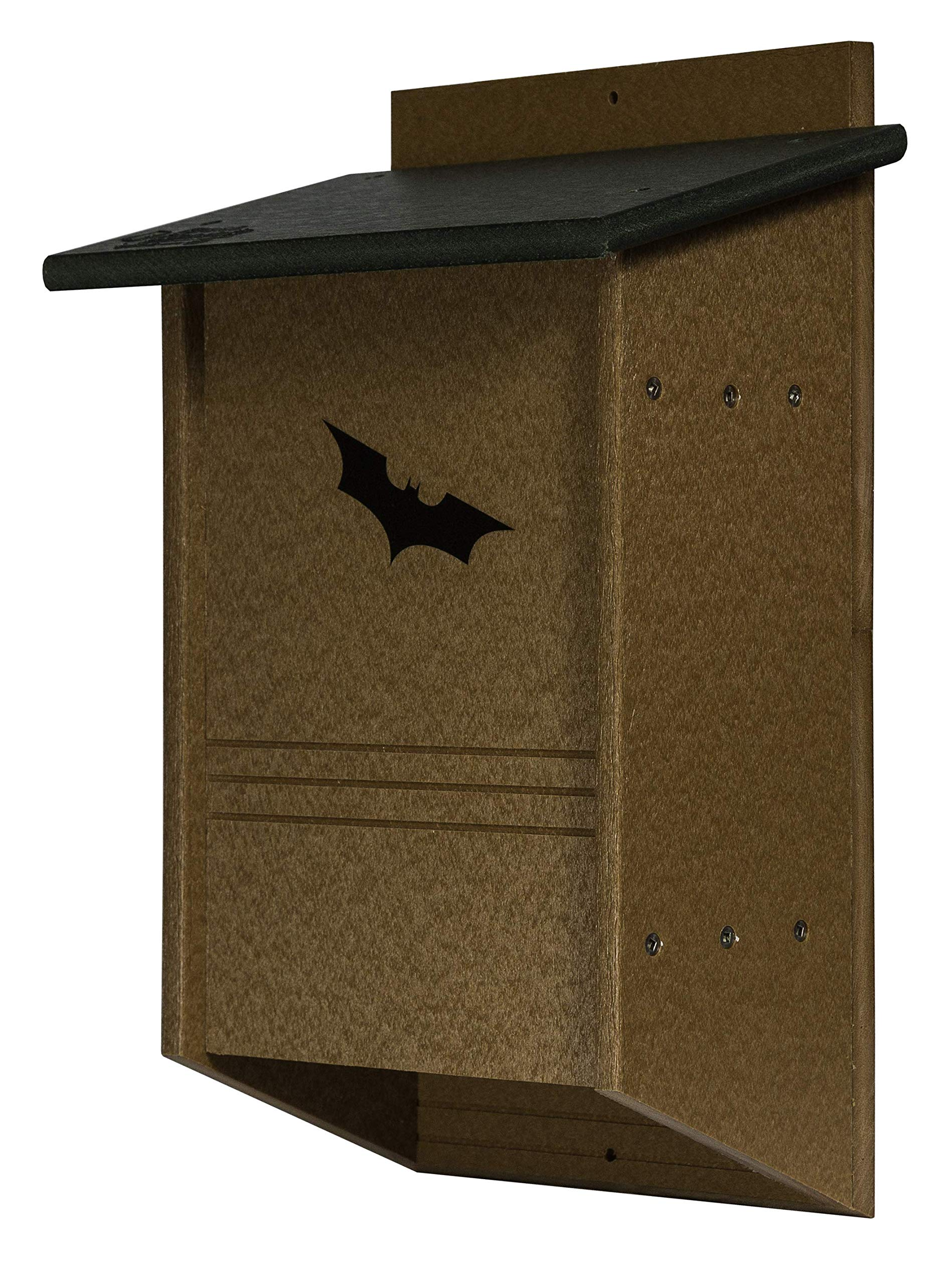 DutchCrafters Poly 40 Colony Bat House (Milwaukee Brown & Weathered Wood) by DutchCrafters (Image #1)