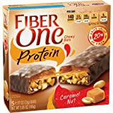 Fiber One Protein Chewy Bar Caramel Nut 5 - 1.17 oz Bars
