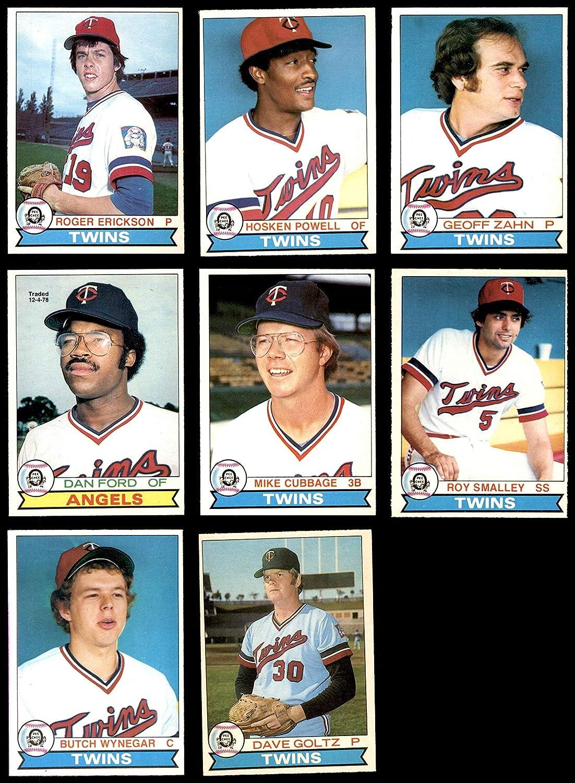 1979 O-Pee-Chee Minnesota Twins Near Team Set Minnesota Twins (Baseball Set) Dean's Cards 6 - EX/MT Twins 9179wMO1tdL