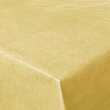 Wachstuch Tischdecke Marmor Gelb Größe Länge wählbar Tischtuch abwaschbar
