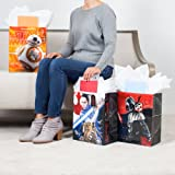 Hallmark Large Star Wars Gift Bags with Tissue