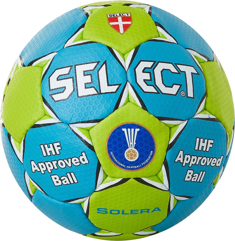 Select Solera - Pelota de balonmano, Azul/Verde, 3: Amazon.es ...