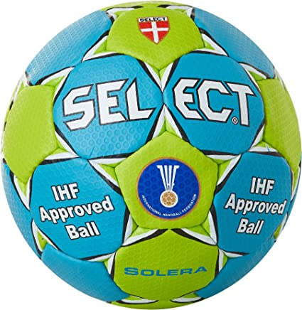 Select Solera - Balón de Balonmano, Color Azul y Verde: Amazon.es ...