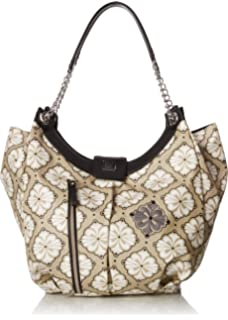 Petunia Pickle Bottom Hideaway Hobo Diaper Bag in Marbella Meadows