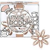 invisibobble I Live in Wonderland NANO Tea Party Spark, Haargummis, 1er Pack(1 x 3 Stück)