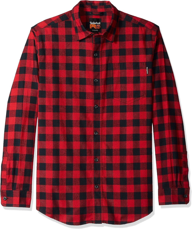 Timberland Pro R-Value - Camisa de trabajo de franela para hombre - Rojo - Small: Amazon.es: Ropa y accesorios