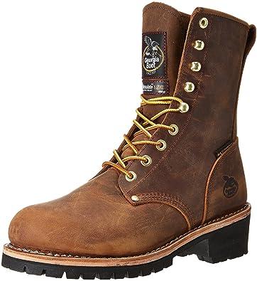 66398fb873d Georgia Boot Men s 8 quot  Steel Toe Insulated Logger Work Boot-GB00065 ...