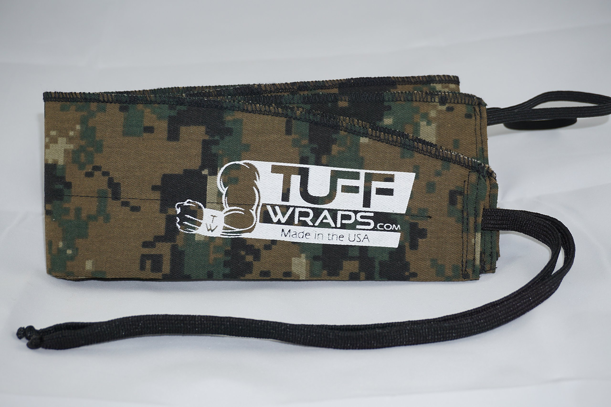 Digital Camo Tuffwraps: Wraps for Crossfit, Olympic Weightlifting, Power Lifting. Innovative Thumb Loop for Easy Application