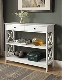 console with decoration entry entryway drawers hall narrow table