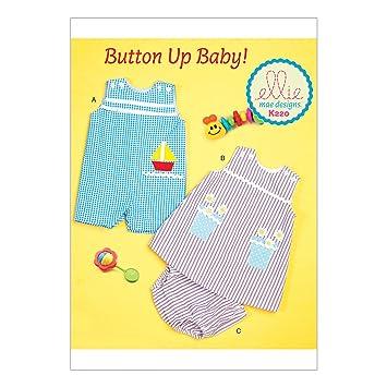 KWIK-SEW PATTERNS Kwik Sew Mustern k0220osz Baby Overalls/Kleid und ...