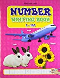 Number Writing Books 1 to 100