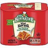 Chef Boyardee Mini Beef Ravioli, 15 Oz. 4-Count (Pack of 6)