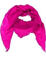 ManuMar Dreiecks-Schal für Damen   feines Hals-Tuch in Unifarben und Motiven als perfektes Sommer-Accessoire   Dreiecks-Tuch - Das ideale Geschenk für Frauen