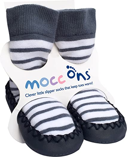 /12/meses N/áutico De Rayas 6/ Mocc Ons Cute Estilo Mocas/ín Calcetines