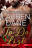 To Do List (Bettencourt Brothers Book 1)