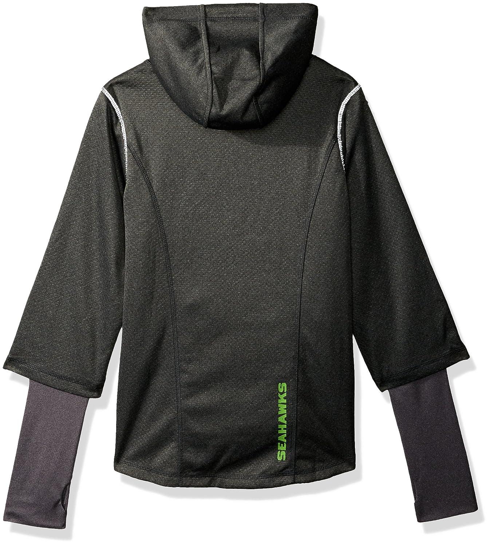 Outerstuff NFL Teen-Girls NFL Girls 7-16 Equinox Layered Funnel Neck Jacket