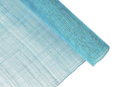 Amazon.com  Stiffened Sinamay Millinery Fabric - Aqua Blue - 1 Meter ... d473f0a0144