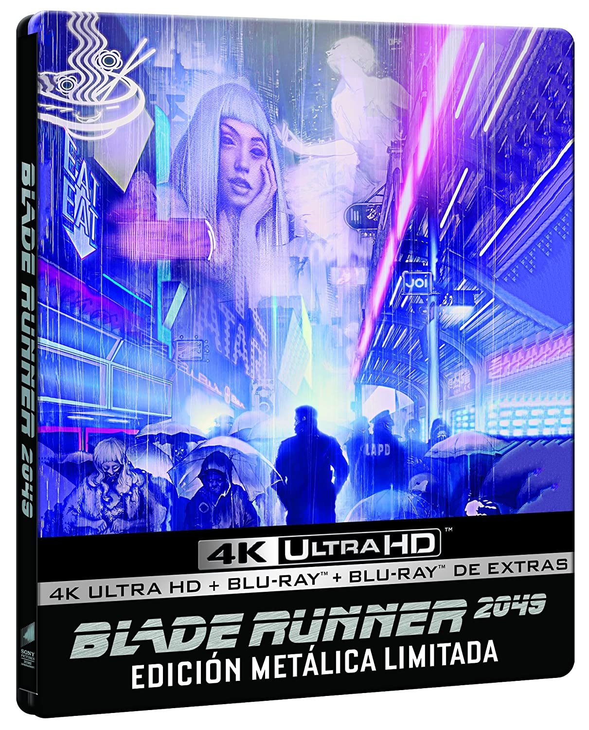 Blade Runner 2049 (3-disc MONDO Steelbook 4K UHD / Blu-ray / Blu-ray Bonus) [Region-Free European Import Limited Edition]