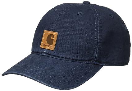 Carhartt Mens Odessa Adjustable Fast-Dry Leather Label Baseball Cap
