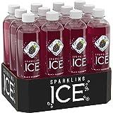 Sparkling Ice Black Raspberry, 17 Ounce Bottles (Pack of 12)