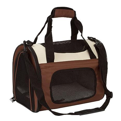 BabycarePro Plegable Transportín Gato para coche Portador Perro Elegante para avión Bolso de viaje para mascotas