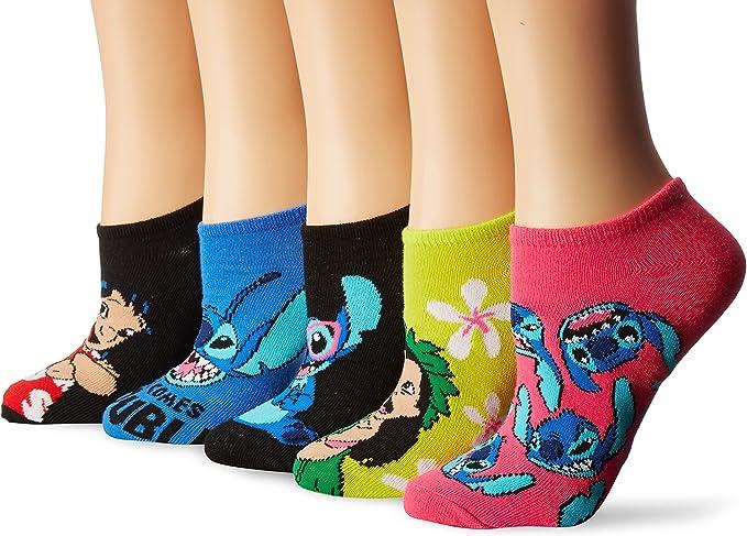 New Disney Lilo /& Stitch Scrump No Show Socks Ladies Sock Size 911 Shoe Sz 4-10