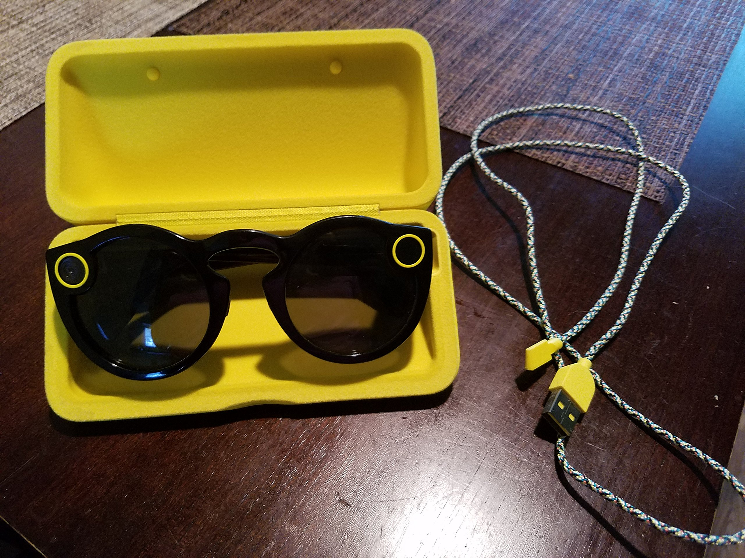 Snapchat Spectacles Sunglasses - black, teal and coral by Spectacles