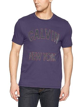 Calvin Klein Jeans Men s Short Sleeve Hd Squared Ck Logo Crew Neck T ... 9fd60e1ba84