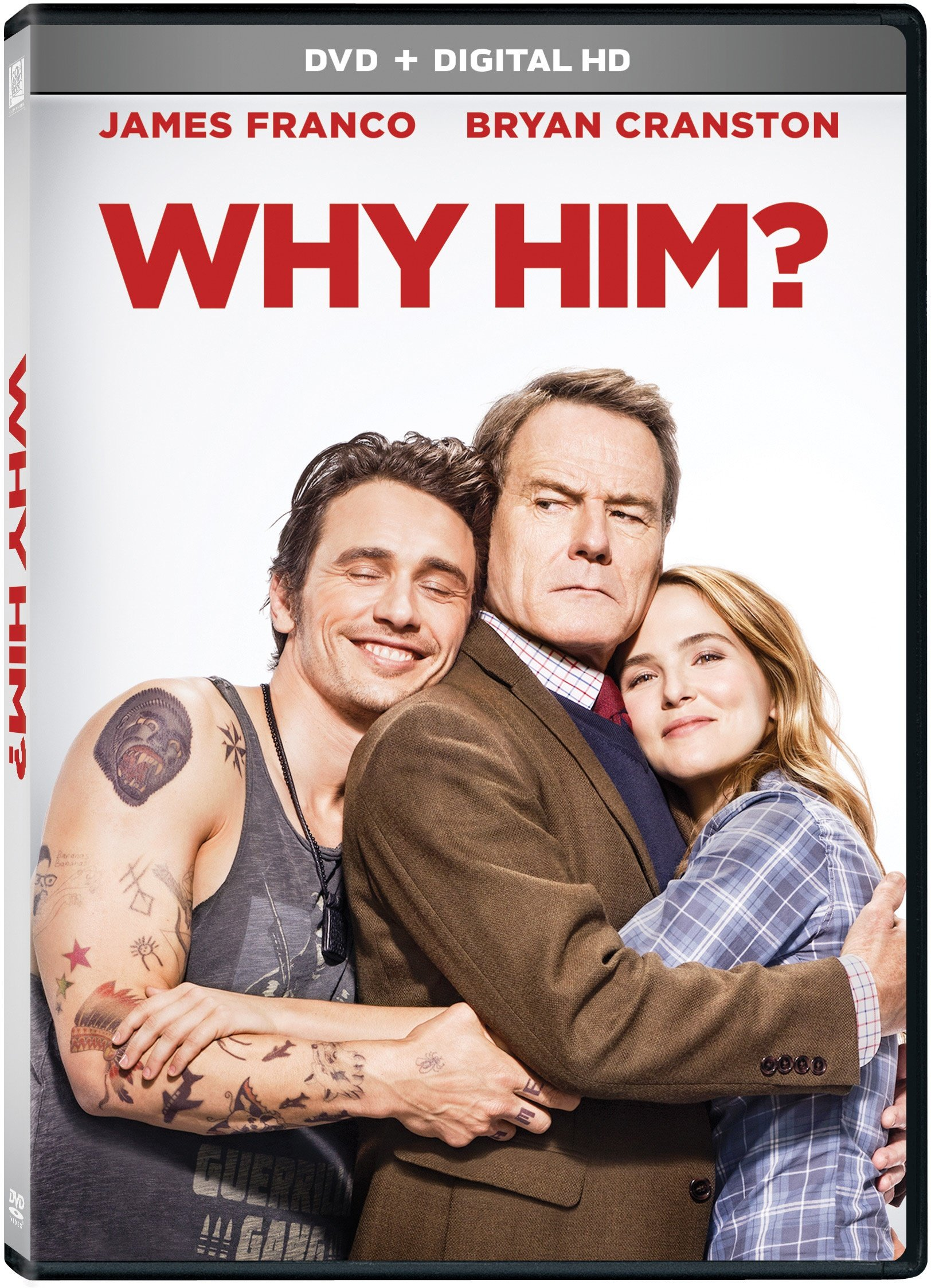 DVD : Why Him? (Digitally Mastered in HD, Widescreen, Dolby, AC-3, Dubbed)