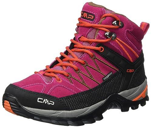 CMP - Botas de Senderismo para Mujer Rosa Rosa, Color Rosa, Talla 36