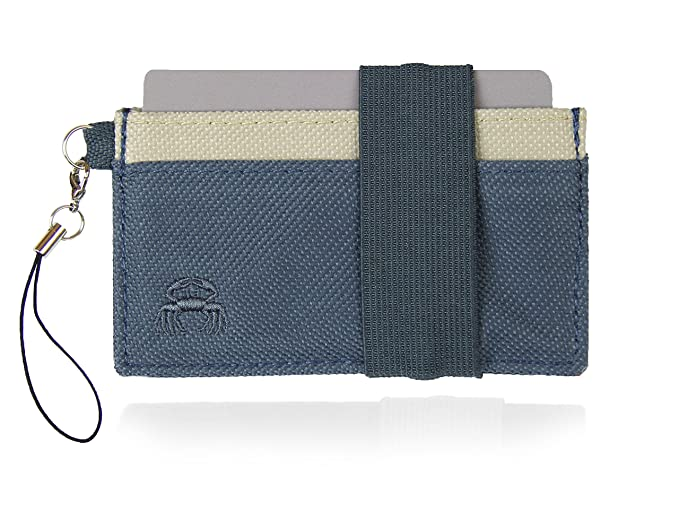 Crabby Wallet - Thin Minimalist Front Pocket Wallet - C3 Canvas Wallet,Fillmore,One Size